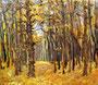 «Осенью в лесу», этюд, 1981