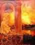 «Пожар», 1988 - государственный исторический музей, г. Яготин, Украина
