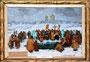 «Водокрещение на Ржавце», 1988 - государственный исторический музей, г. Яготин, Украина