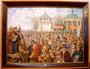 «Провозглашение Срветской Власти в г. Яготине», 1993 - картина передана Посольству Украины в г. Мельбурн, Австралия