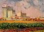 «Комбикормовый завод в г. Яготин», 1981 - государственный исторический музей, г. Яготин, Украина