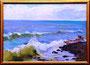 «Волны на море», этюд, 1958