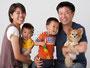 百戦錬磨の技術で、ご家族の自然な表情を引き出します。