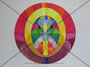 Gebet 3  Originalgrösse BxH = 41.5x29.7cm  Acryl auf Papier