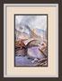 Packhorse-Bridge, Landschaft in England, Bild nach einer Vorlage von Terry Harrison, Originalgröße gerahmt ca 30x40cm