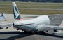 Cathay Pacific --- B-HOW --- B747