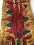 トルクメン テッケ族 刺繍布