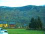 ...mit schöner Landschaft und