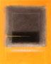 Grauschwarz auf Orange   (40x50 cm)