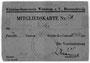 Mitgliedskarte 528 v. Otto und Margarete Fricke