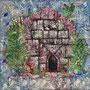 """Corona House""  | 2020 | Oil on linen | 27 x 27 in (68.6 x 68.6 cm)"