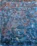 """200x160 """"Circumnavigation"""" acrylique-pigments-encre sur toile  2012"""