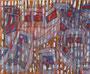 """61x50  """"Carnaval des bateaux masqués"""" acrylique sur châssis entoilé 2011 vendu"""
