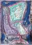 46x33 Récréations acrylique-encre sur toile  2012