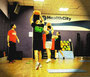 torsione del busto con disco o medicine ball functional workout personal trainer roma