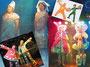 DVDアートディレクション「ケロンズのあそびまショー」コスチュームデザイン