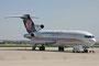 Nur noch wenige aktive 727-Frachter fliegen bei Cargojet. Mehrere dienen schon als Ersatzteilspender. Bei unserem Besuch war dieser hier noch aktiv.