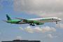 Eine der letzten Landungen für die DC-8 der Aroow, eine Woche später war sie durch eine Boeing 757 ersetzt worden.
