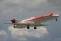 Die Avianca Colombia fliegt mehrmals täglich nach Miami, u.a. auch mit dieser MD-88
