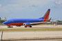 Southwest betreibt ihren Florida-Hub in Fort Lauderdale, da sie Miami nicht bedient.