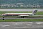 American Airlines hat mittlerweile seinen Flottenumbau abgeschlossen. 2009 betrieb sie noch eine stattliche Anzahl an MD 82, wie die N70425