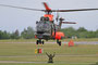 Rettungsflieger auf Abruf, im nächsten Jahr werden die Super Pumas ausgemustert.