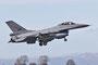 Die Norwegische Luftwaffe flog ebenfalls mit F-16C mit.