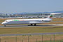 07.07.2013; LZ-LDU, McDonnel Douglas MD-82 der Bulgarian Aircharter (ex Alitalia I-DANU)