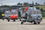 Yeovilten ist die Heimat aller RN Sea Lynx. Hier stehen die Hubschrauber, wenn sie nicht gerade auf einem Schiff als Bordhubschraube dienen.