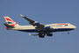 Boeing 747-400 der British Airways aus London