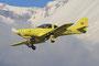 Lancair 320, ein eher seltener Flugzeugtyp.