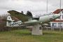 Diese Hawker Sea Hunter war vormals in Fliegerhorst Eggebeck ausgestellt.