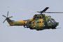 Auch die Kampfhubschrauber blieben in der Luft und sicherten den Bereich, bis....