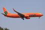 Mango ist die Lowcost-Sparte von South African. Sie betreibt einige Boeing 737-800 aus Beständen des Mutterkonzerns.
