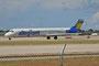 Allegiant unterhält eine Flotte von rund 60 Fliegern der MD-80 Serie und ist in Las Vegas beheimatet.