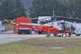 Eine Aloutte III von Air Glaciers. Vorher war dieser Hubschrauber im Einsatz bei der portugiesischen Luftwaffe.