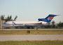 Auch die Amerijet fligt nun moderne Flieger. Hier eine der 2009 noch reichlich vertretenen Boeing 727-200.