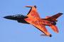 Vorführung des F-16+ Solodisplayteams aus den Niederlanden.