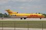 Für den DHL in Panama fliegen noch immer Boeing 727-200 wie diese hier.