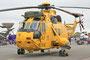 Dies ist einer der typisch gelben Rettungshubschrauber der Royal Air Force aus Chivenor.