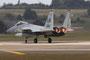 Die Nachbrenner der F-15, hier eine F-15C, machen einen beeindruckenden Lärm.