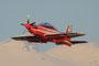 Eine weitere PC-21 in  weiß/rotem Anstrich, der aber wieder abgeschafft wird.