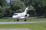 Hawker 800XP, der Hangar 8 Aviation.