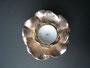 Windlicht, Bronze versilbert, 2005