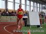 Sara Haußmann konnte Victoria Dietsch nicht mehr folgen. Am Ende belegte sie den 4. Platz in der WJB in 17:50,77min.