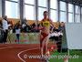 Christin Elß vom SC Potsdam belegte Platz 2 bei den Frauen. Für 3000m benötigte sie 13:23,87min.