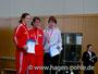 Bei den Frauen gewann Melanie Seeger (12:39,34min) vor Christin Elß und Justin Wendt (LG Nike Berlin/ 16:21,56min)