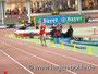 Nils selber hat ca. 40 m Vorsprung vor dem Erfurter Max Breuer (am Ende der Kurve).