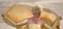 Fantasie & Wirklichkeit Fotografien und Gedichte Kathrin Steiger märchenhaft verträumt romantisch Strand Sand Sandstrand blauer Himmel weiße Wolken