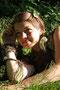 Fantasie & Wirklichkeit Fotografien und Gedichte Kathrin Steiger Wald-Troll-Moos-Mädchen
